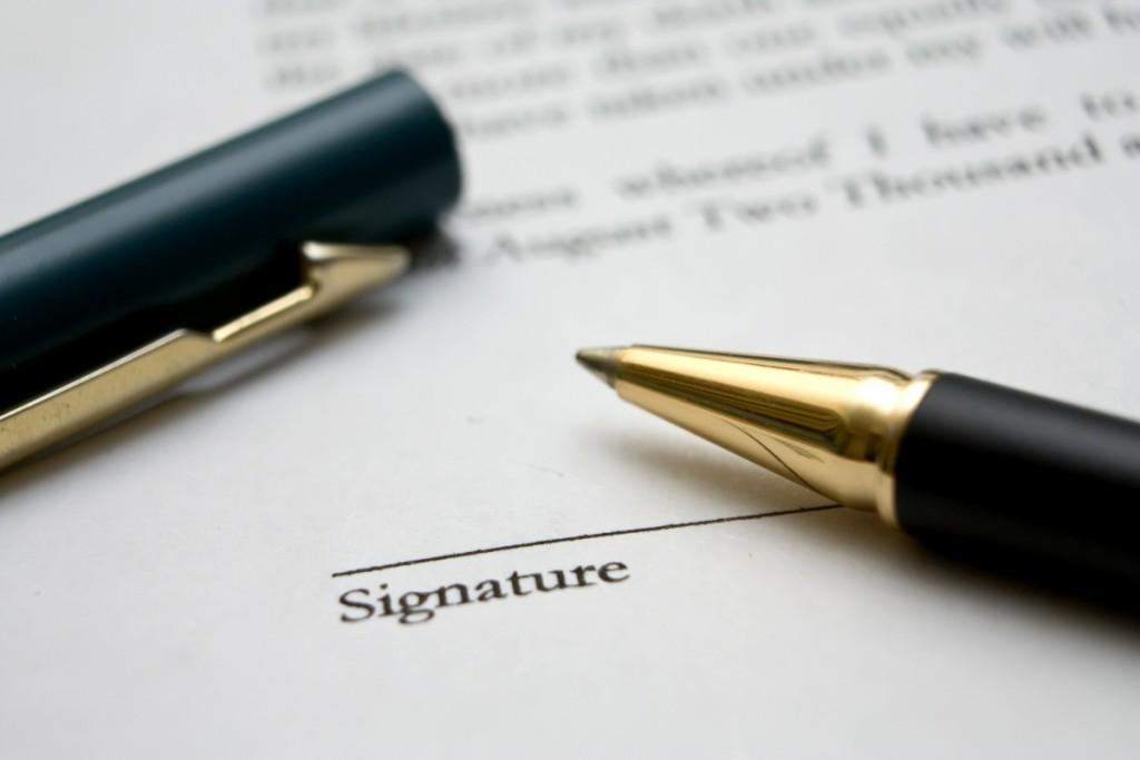 signature bill